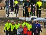Rachid i Lourdes 3ers a la cursa Montanyans, 6 Fondistes presents